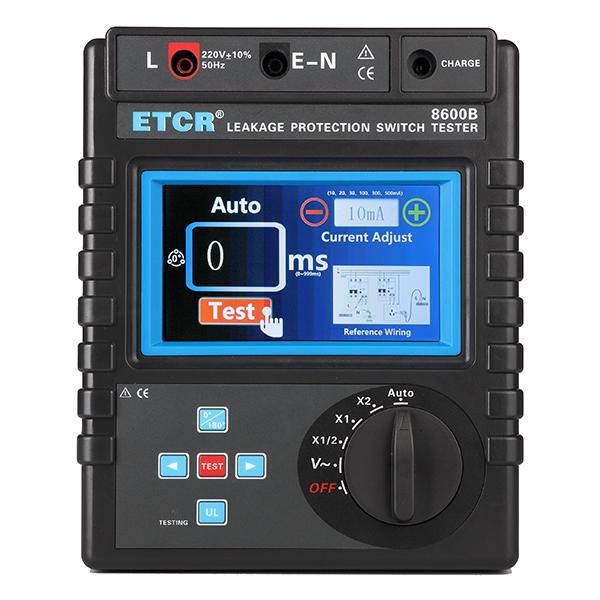 ETCR8600B漏电保护器测试仪