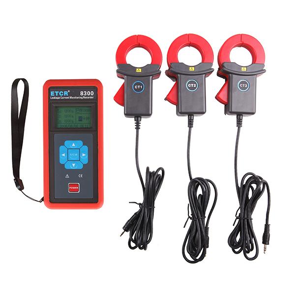 ETCR8300三通道电流/漏电流监控记录仪-电力测试仪表-铱泰电子科技