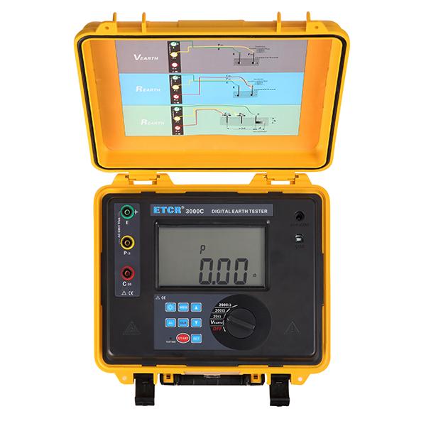 ETCR3000C数字式接地电阻测试仪-接地电阻测试仪-铱泰电子科技
