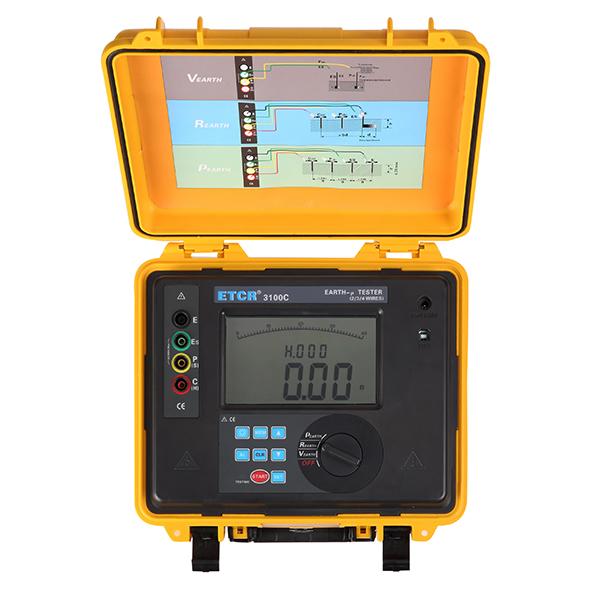 ETCR3100C接地电阻/土壤电阻率测试仪-接地电阻/绝缘电阻测试仪-铱泰电子科技