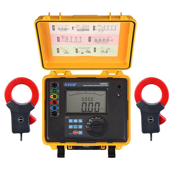 ETCR3200C双钳多功能接地电阻测试仪-接地电阻测试仪-铱泰电子科技