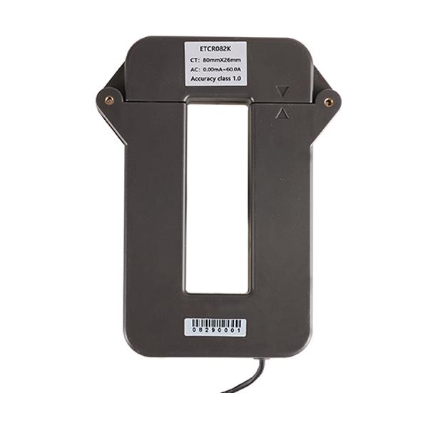 ETCR082K开合式高精度漏电流互感器-开合式电流互感器-铱泰电子科技