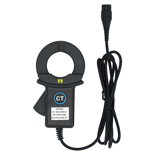 ETCR040钳形高精度漏电流互感器-钳形电流传感器-铱泰电子科技