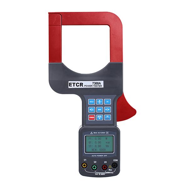 ETCR7300A大口径三相钳形功率表-钳形电流表-铱泰电子科技