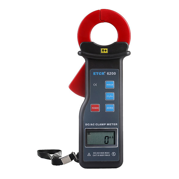 ETCR6200 AC/DC Clamp leakage Current Meter