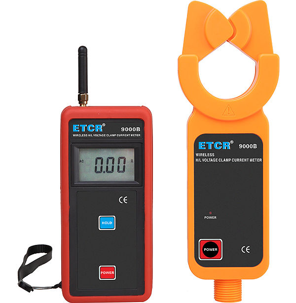 ETCR9000B Wireless H/L Voltage Clamp Current Meter