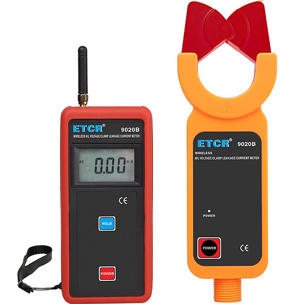 ETCR9020B Wireless H/L Voltage Clamp Leakage Current Meter