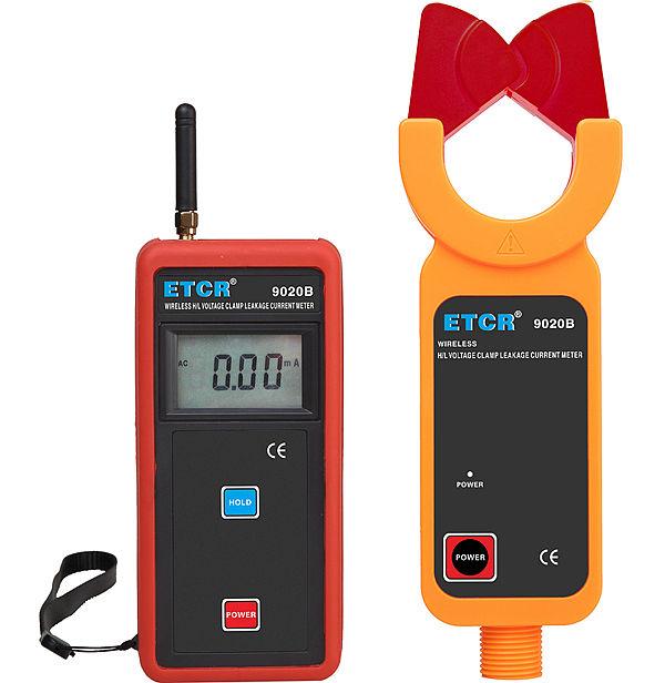 ETCR9020B Wireless H/L Voltage Clamp Leakage Current Meter - ETCR