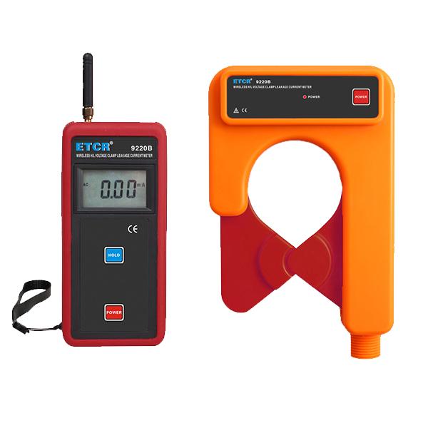 ETCR9220B Wireless H/L Voltage Clamp Leakage Current Meter