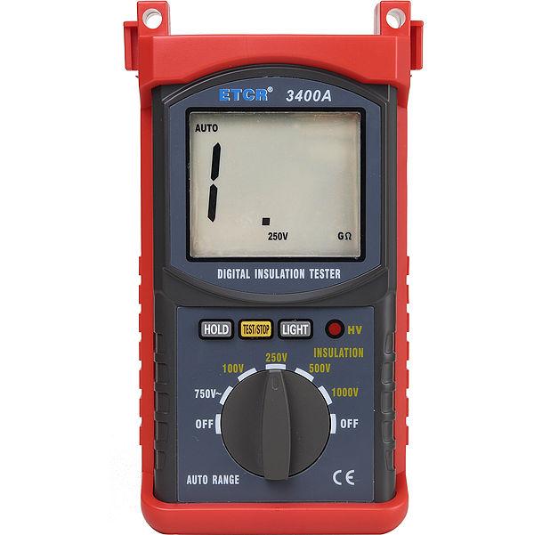 Digital Clamp Meter High Voltage 1KV Insulation Resistance Tester ETCR3400A