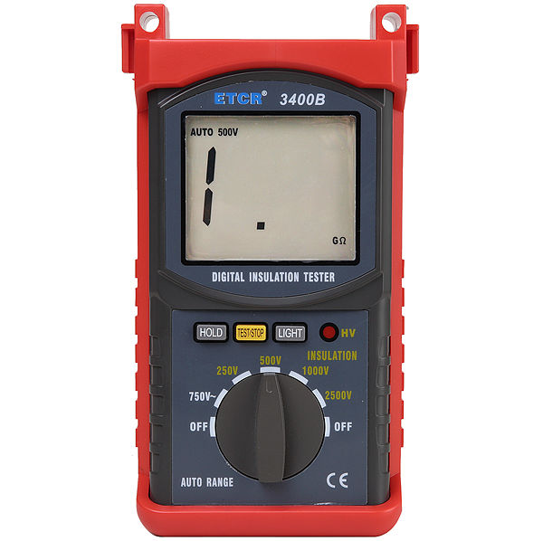 ETCR3400B Insulation Resistance Tester-Earth Resistance/Insulation Resistance Tester-ETCR
