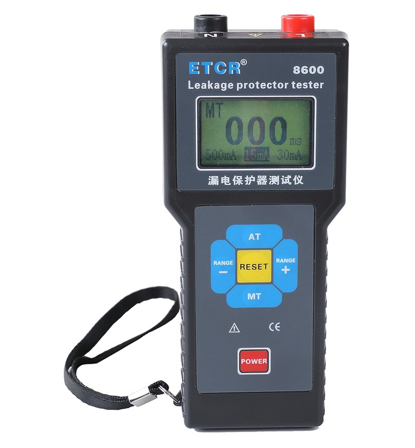 ETCR8600 Leakage Protector Tester-etcr