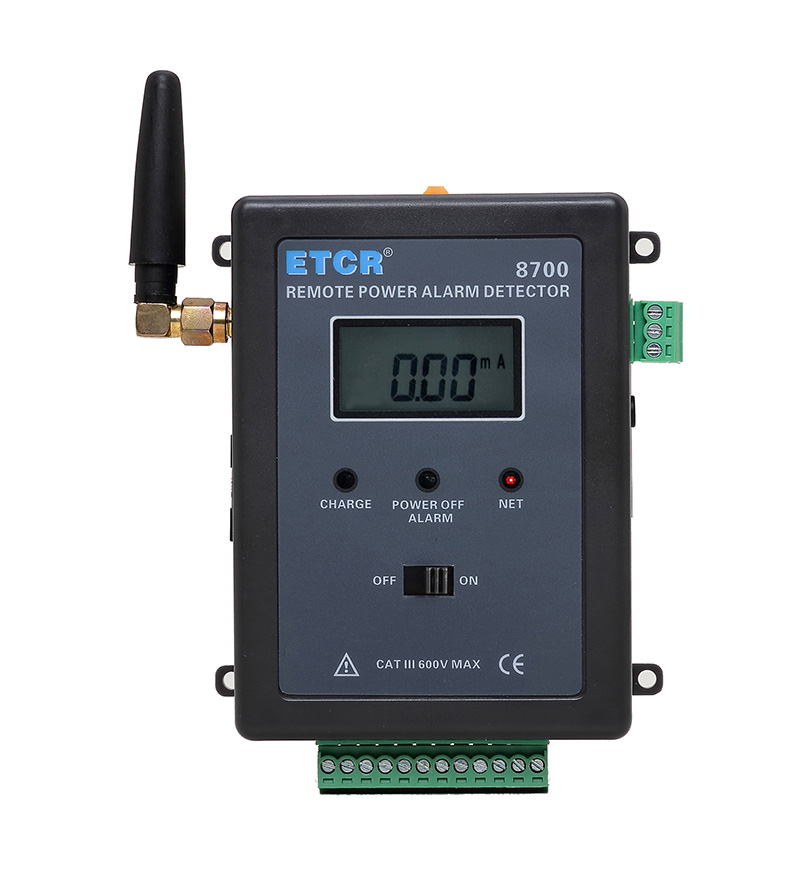 ETCR8700 Power Failure/Leakage Current Remote Alarm Monitor