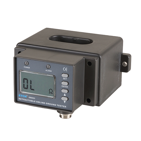 ETCR2800C多功能非接触式接地电阻在线检测仪-接地电阻/绝缘电阻测试仪-铱泰电子科技