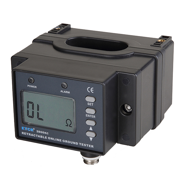 ETCR2800KC开合式接地电阻在线检测仪-接地电阻测试仪-铱泰电子科技
