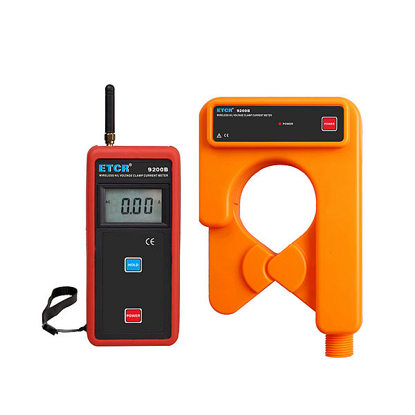 ETCR9200B Wireless H/L voltage Clamp Current Meter