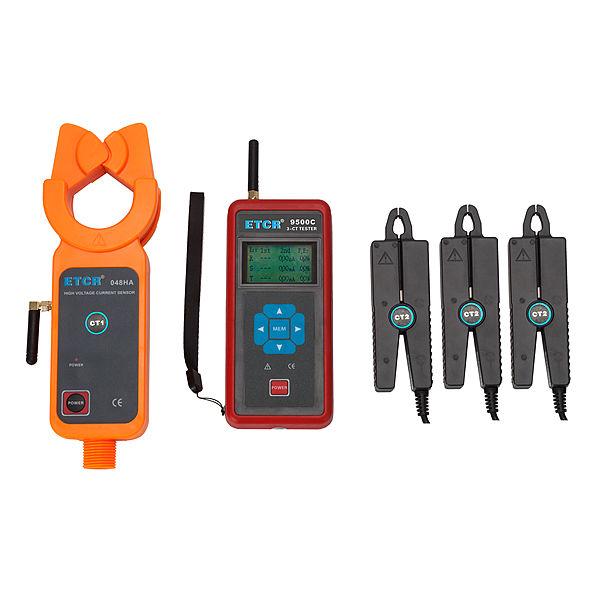 ETCR9500C-008 Three-Channel Wireless HV Transformation Ratio Tester - ETCR