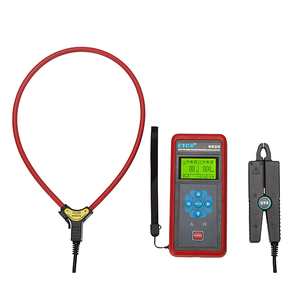 ETCR9620 LV Current Transducer Transformation Ratio  Tester