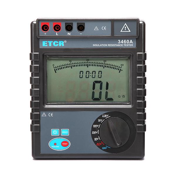 ETCR3460A绝缘电阻表-绝缘电阻测试仪-铱泰电子科技