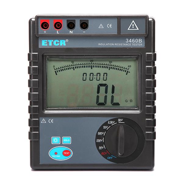 ETCR3460B绝缘电阻表-绝缘电阻测试仪-铱泰电子科技