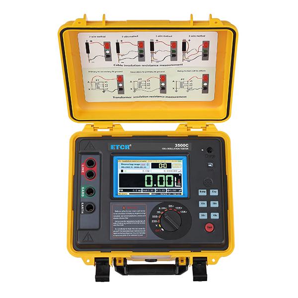 ETCR3500C高压绝缘电阻测试仪