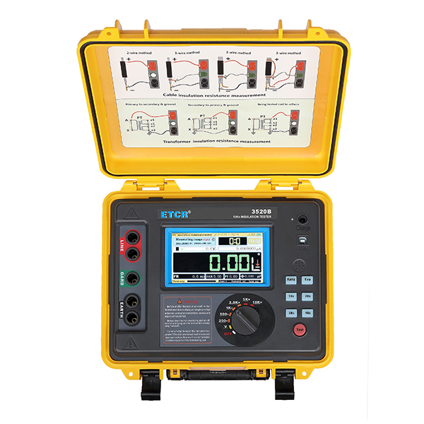 ETCR3520B高压绝缘电阻测试仪