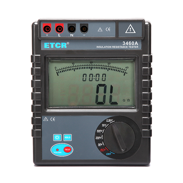 ETCR3460A Insulation Resistance Tester