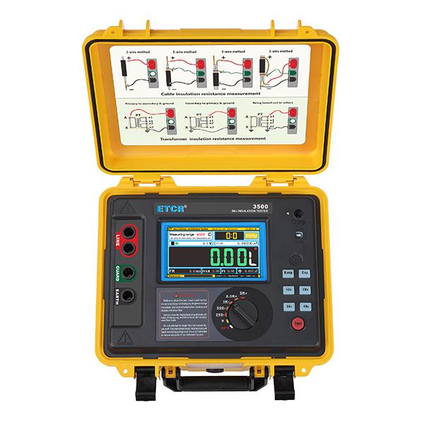ETCR3500高压绝缘电阻测试仪