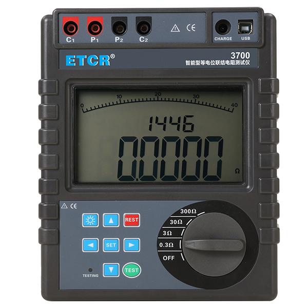 ETCR3700智能型等电位联结电阻测试仪-防雷装置检测仪表-铱泰电子科技
