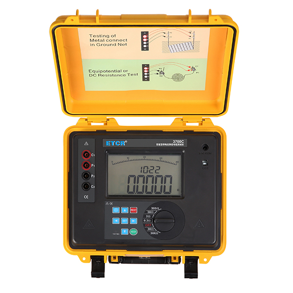 ETCR3700C智能型等电位联结电阻测试仪/直流低电阻测试仪