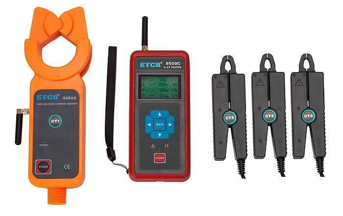 ETCR9500C Three-Channel Wireless HV Transformation Ratio Tester