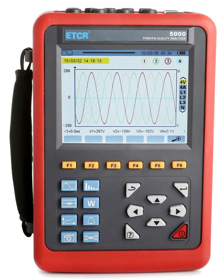 经典推荐 : ETCR5000电能质量分析仪