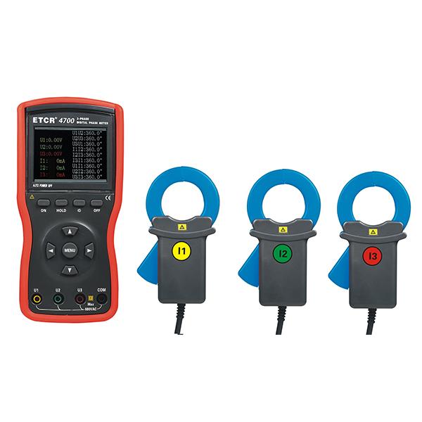 ETCR4700大口径三相数字相位伏安表-电力测试仪表-铱泰电子科技