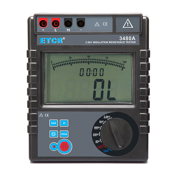 ETCR3480A  Insulation Resistance Tester
