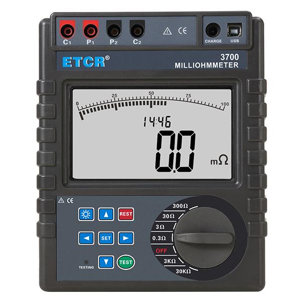 ETCR3700等电位联结电阻测试仪
