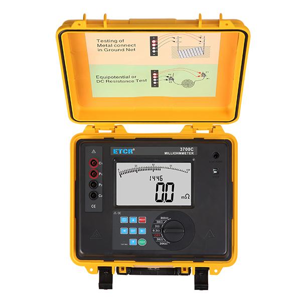 ETCR3700C等电位联接电阻测试仪