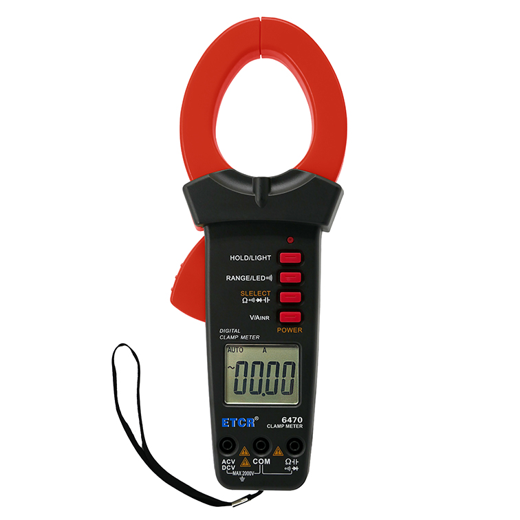 ETCR6470钳形万用表-钳形电流表-铱泰电子科技