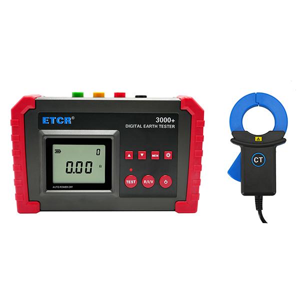 ETCR3000+数字式接地电阻表