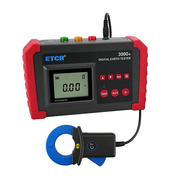 ETCR3000+数字式接地电阻表-接地电阻测试仪-铱泰电子科技