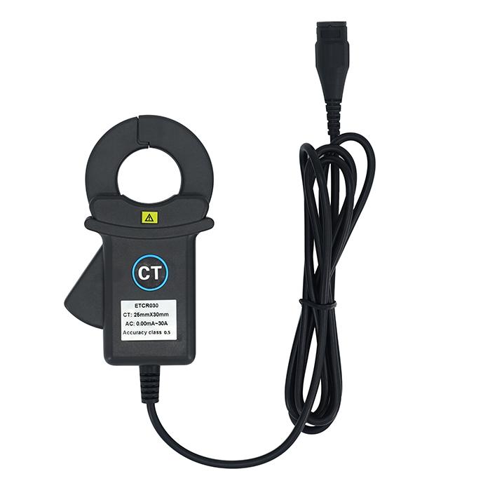 ETCR030钳形高精度漏电流互感器-钳形高精度漏电流互感器-钳形电流互感器-铱泰电子科技