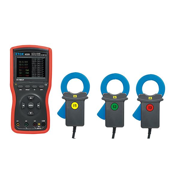 ETCR4320大口径三相数字相位伏安表-电力测试仪表-铱泰电子科技