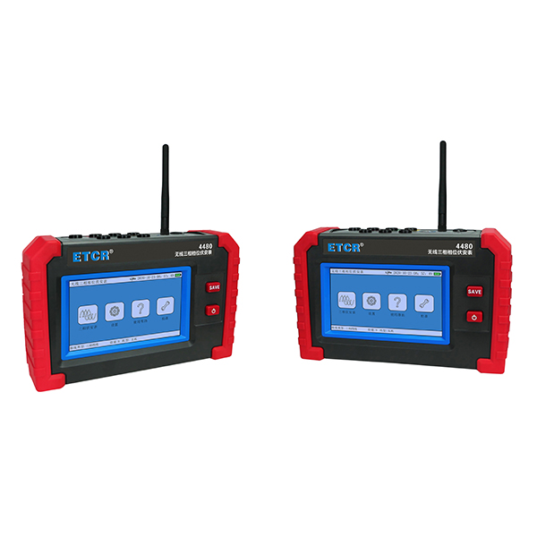 ETCR4480无线三相相位伏安表
