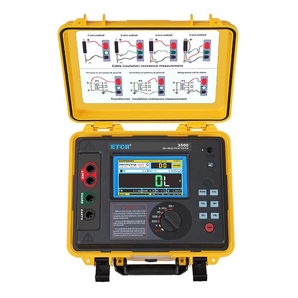 ETCR3500高压绝缘电阻测试仪-绝缘电阻测试仪-铱泰电子科技