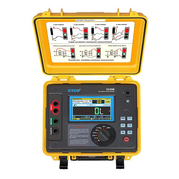 ETCR3520B高压绝缘电阻测试仪-绝缘电阻测试仪-铱泰电子科技