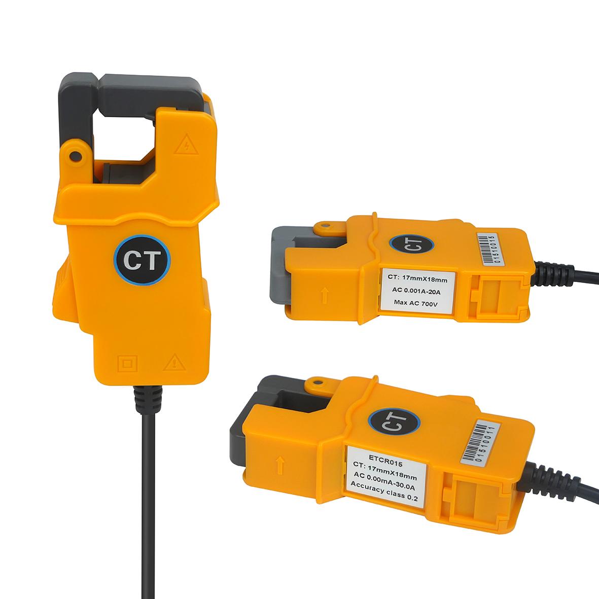 ETCR015高精度钳形漏电流传感器