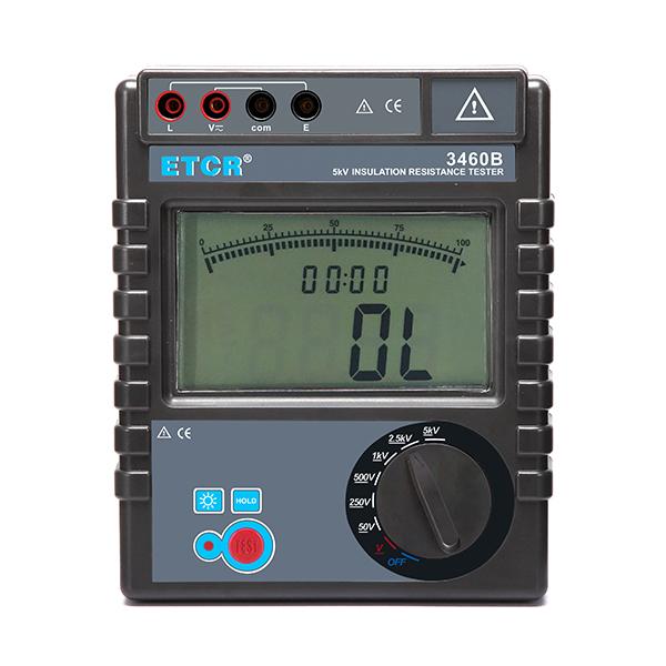 ETCR3460B绝缘电阻表-绝缘电阻表-绝缘电阻测试仪-铱泰电子科技