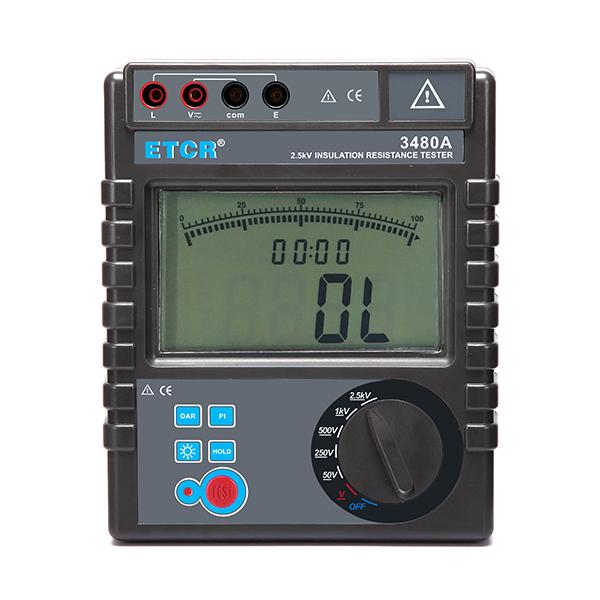 ETCR3480A绝缘电阻表