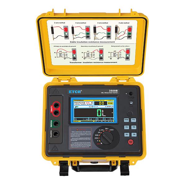 ETCR3500B高压绝缘电阻测试仪-高压绝缘电阻测试仪-绝缘电阻测试仪-铱泰电子科技