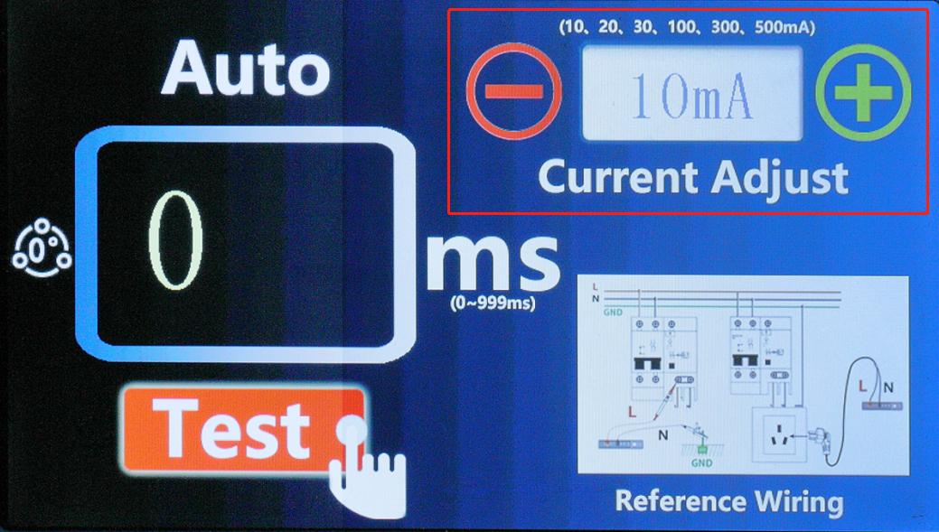 ETCR8600B如何设置电流档位