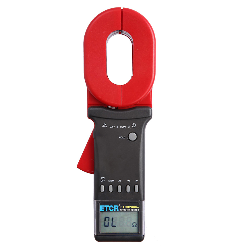 ETCR2000+ Clamp Earth Resistance Tester